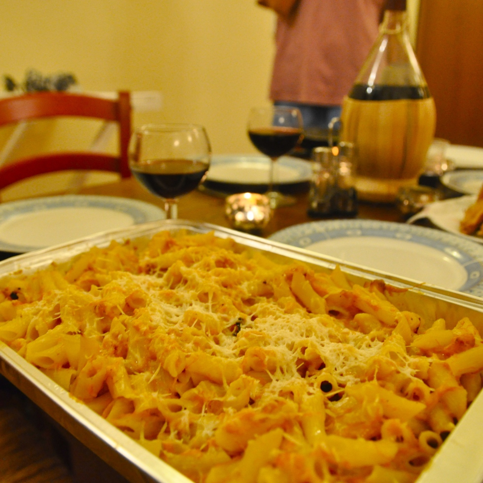 Baked Butternut Squash Penne