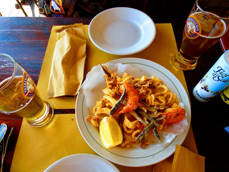 Cinque Terre Italy Fresh Seafood