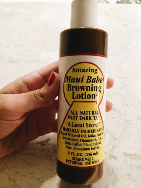The Amazing Maui Babe Lotion Review