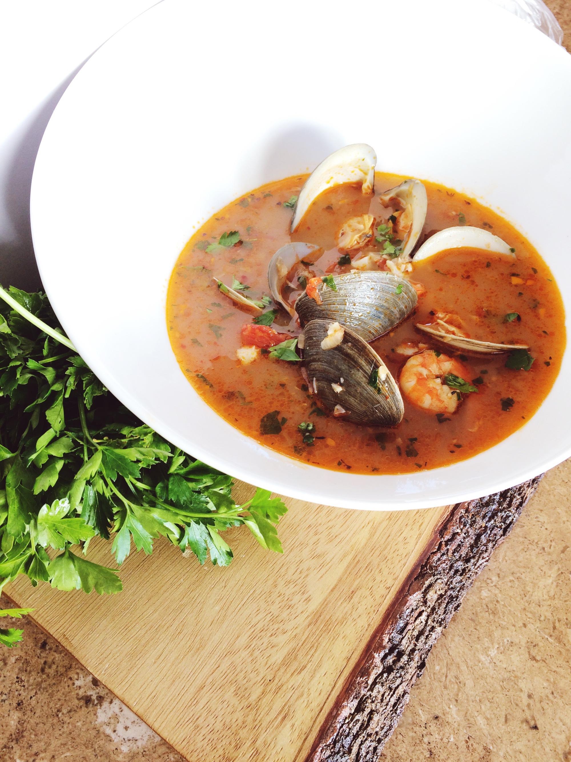 Homemade Seafood Cioppino