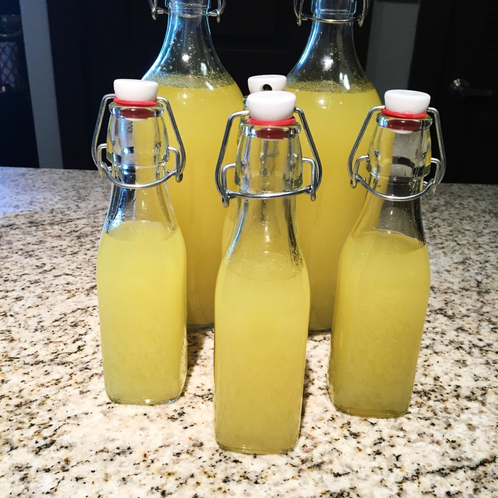 Limoncello della Casa - Authentic homemade limoncello recipe