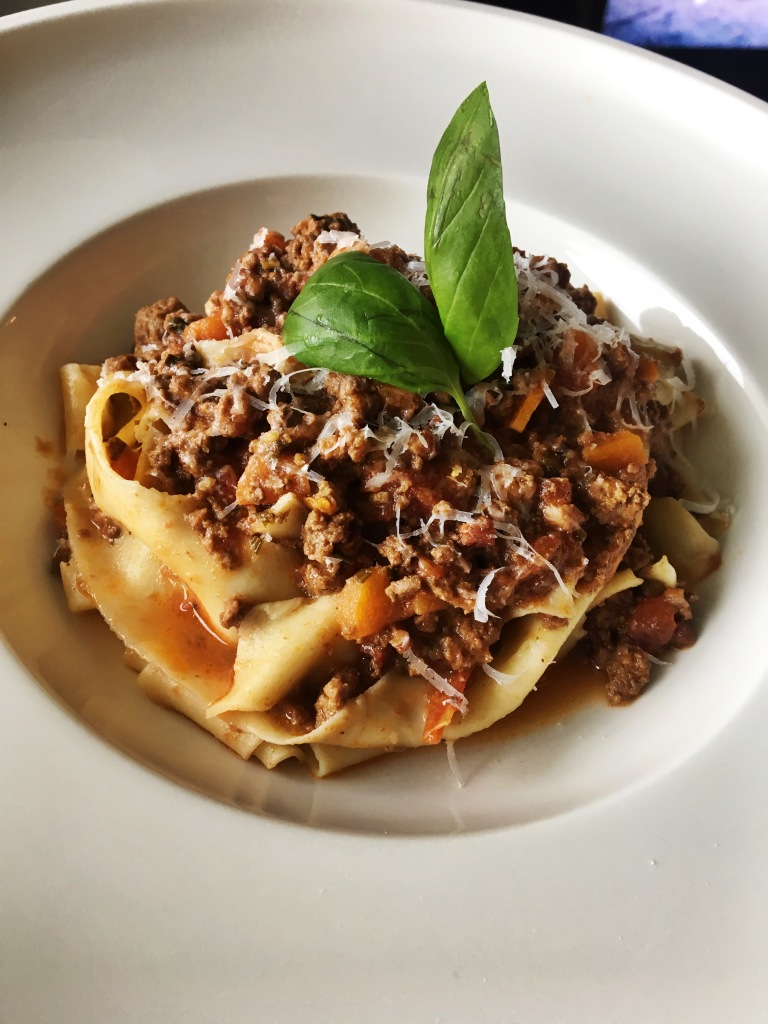 Ragu Bolognese with Fresh Pappardelle Pasta