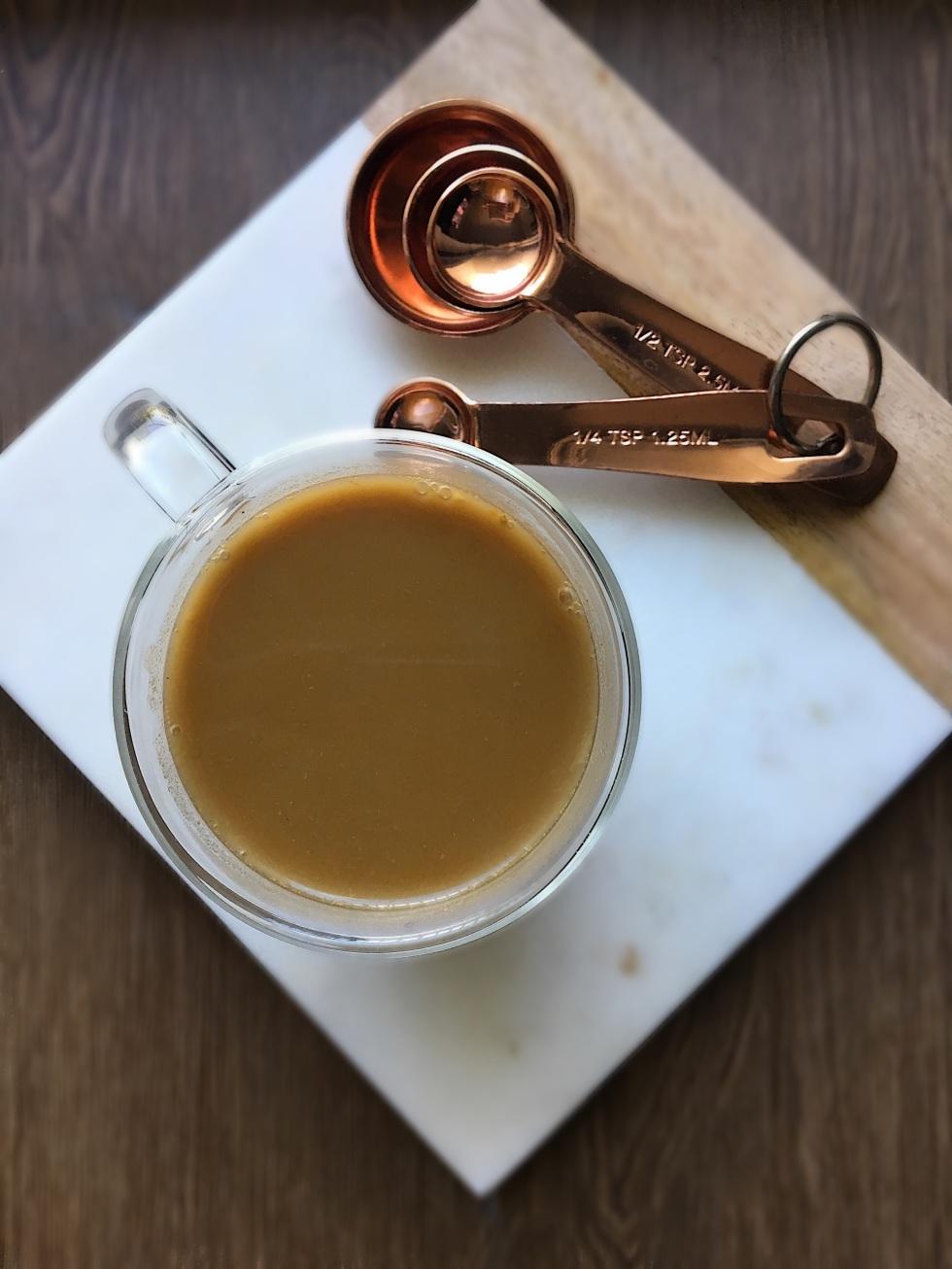 Paleo Dairy Free Pumpkin Spice Latte