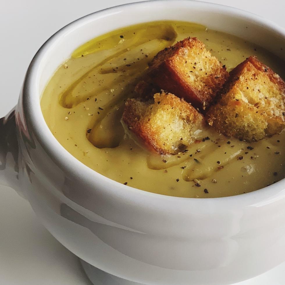 Potato Artichoke Soup