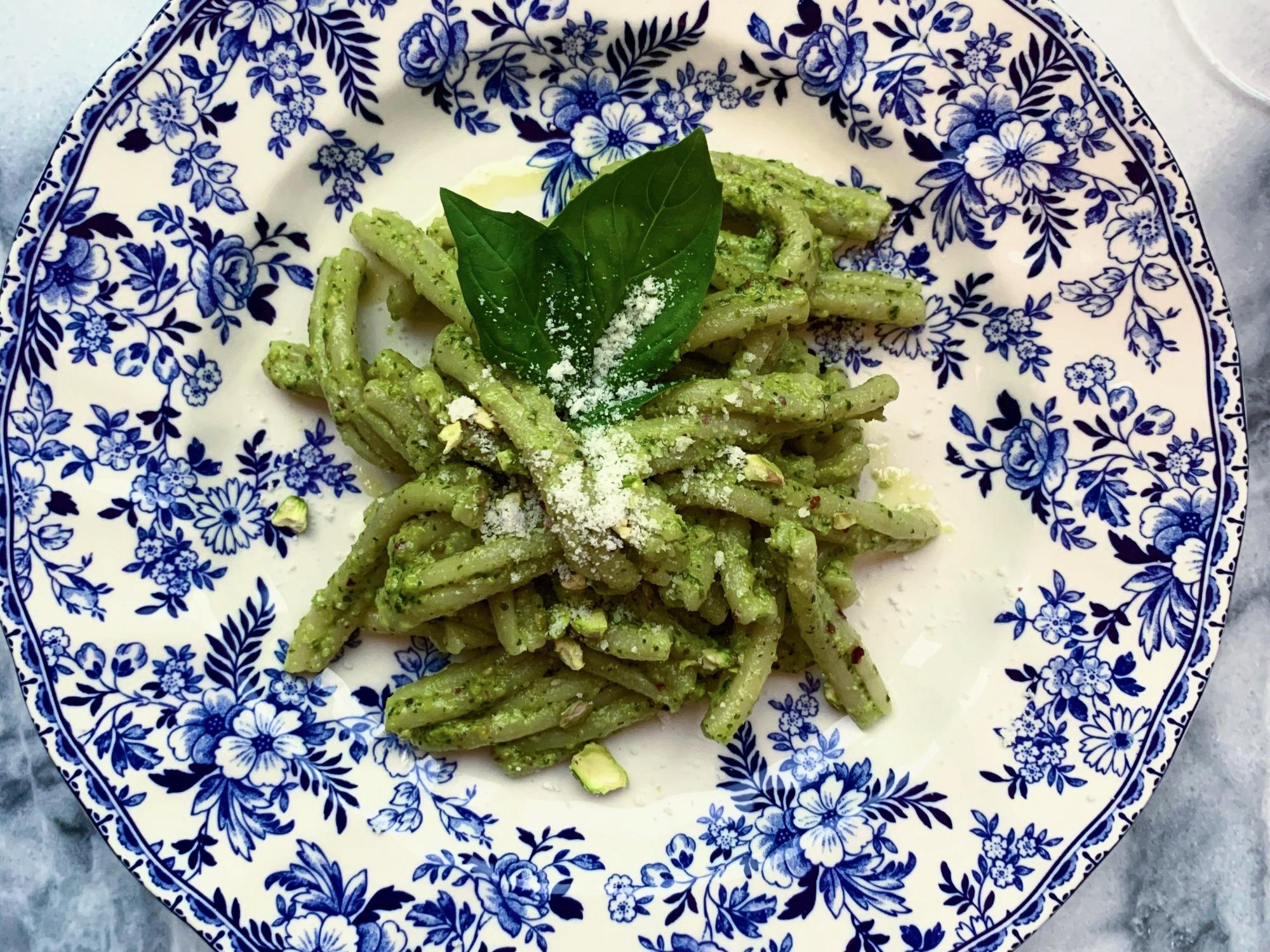 Simple Pistachio Pesto Pasta