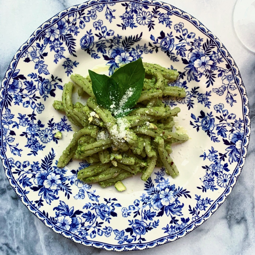 Simple Pistachio Pesto Pasta